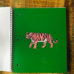🌺4 Items 25$🌺 Pep Rally Tiger Notebook NWT Green
